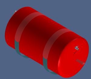Flootzer Cable Float 1000 CAD
